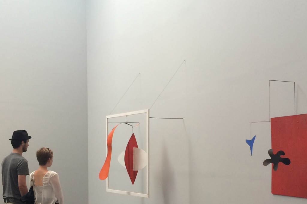 """Calder and Abstraction"" at the Los Angeles County Museum of Art."