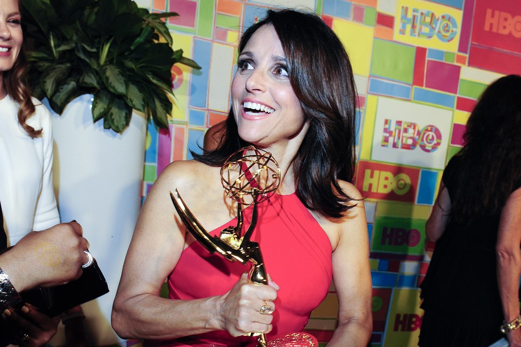 Julia Louis-Dreyfus in Carolina Herrera.