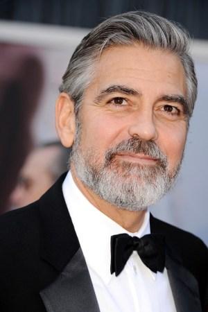 George Clooney in Giorgio Armani.