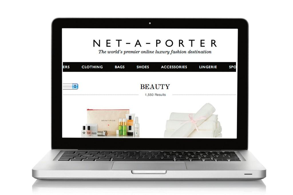 Net-a-porter adds beauty offerings.