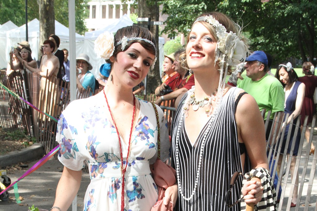 ‪On the grounds of?Governors Island's Jazz Age Lawn Party‬