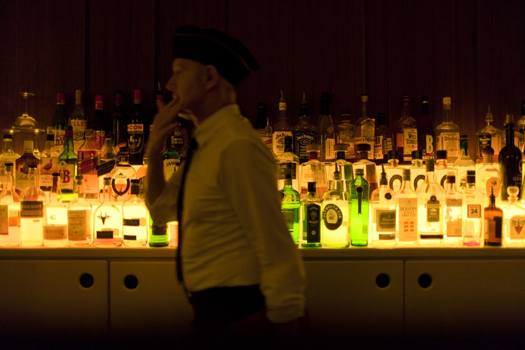A scene from Victoria Bar, on Potsdamer Straße.