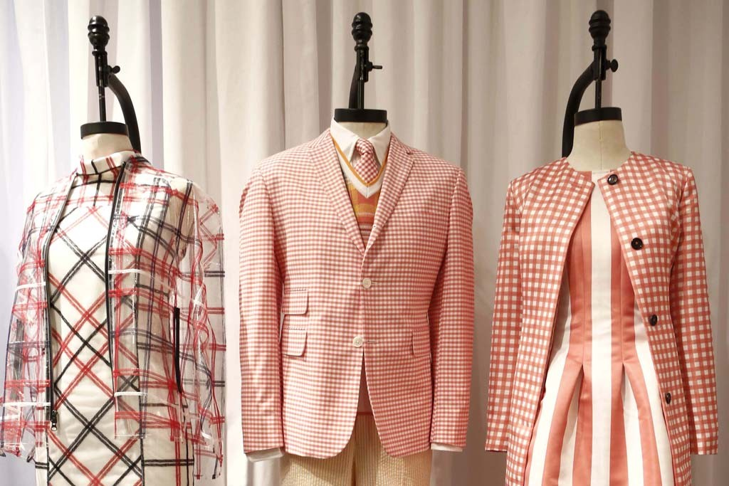 Looks from the Brooks Brothers spring 2015 collection.
