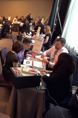 European beauty companies present their products to U.S. beauty marketers and retailers during one-on-one Cosmopack sessions.