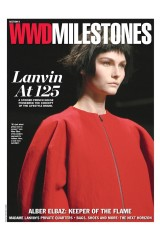 WWD Milestones September 25 2014 Lanvin