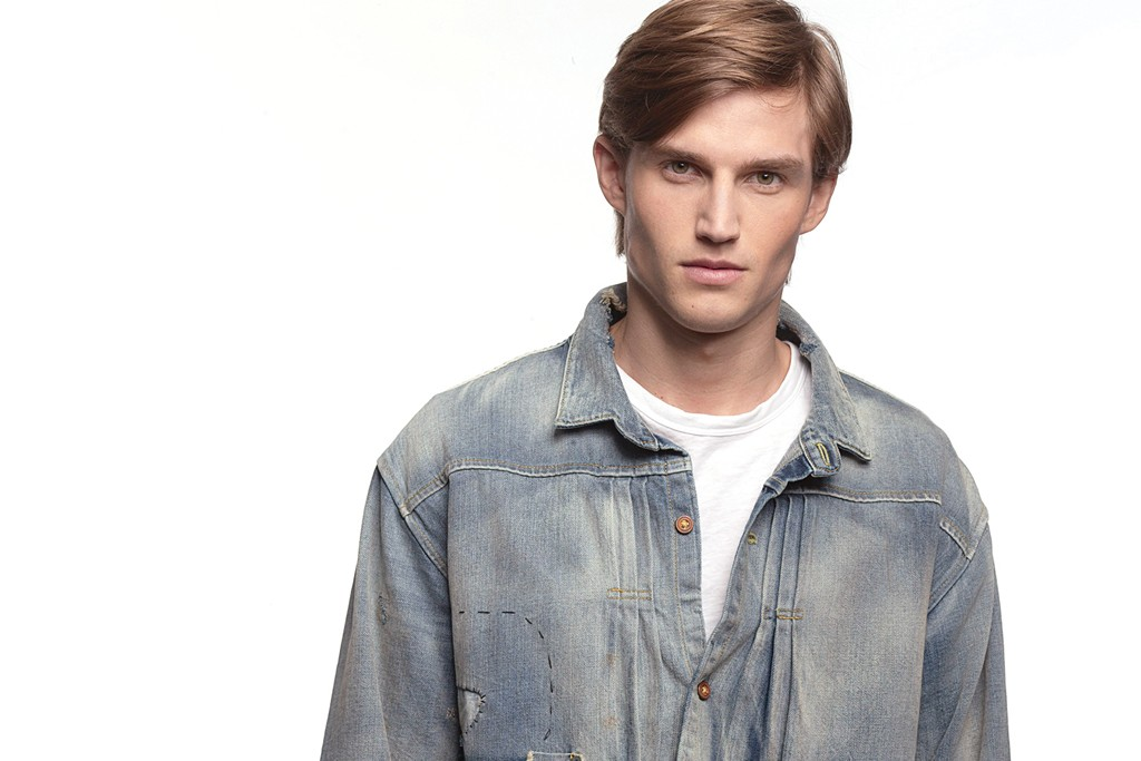 Levi's Vintage Clothing Denim Trucker Jacket