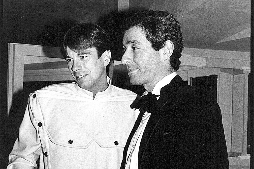 Thierry Mugler and Didier Grumbach.