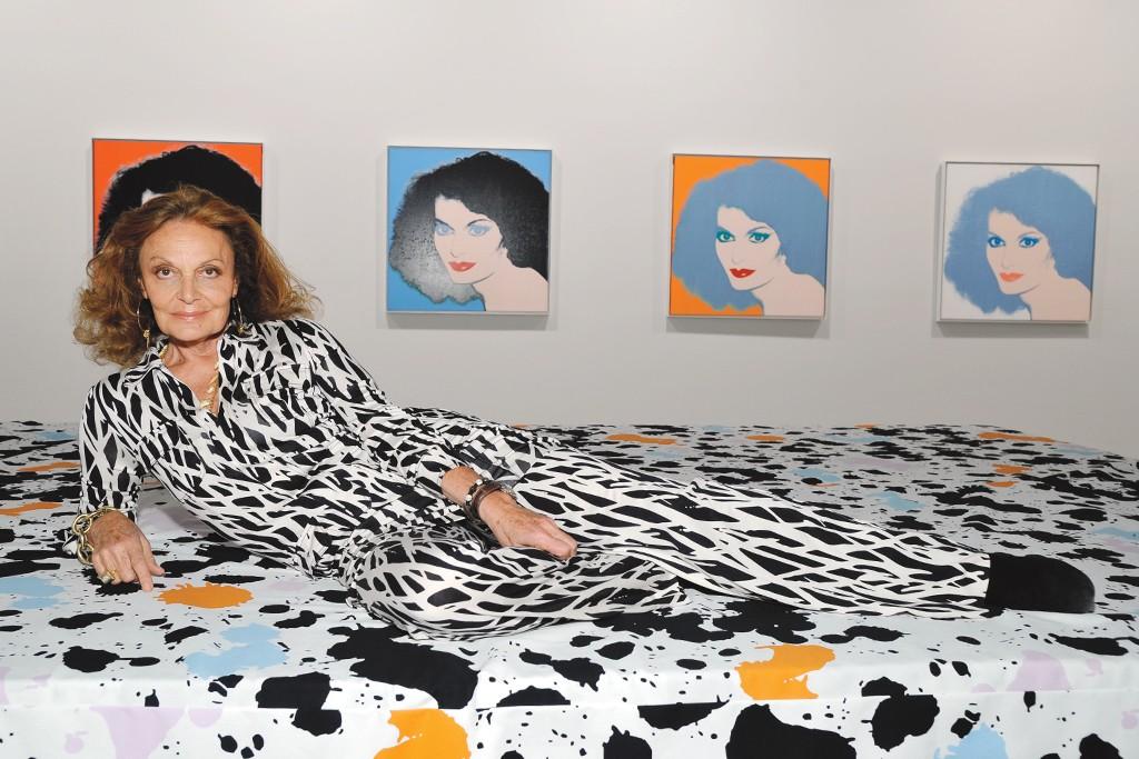 Diane von Furstenberg in Los Angeles.