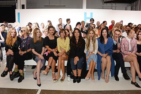 Laura Bailey, Laura Carmichael, Pixie Geldof, Alexa Chung, Jessie Ware and Harley Viera Newton