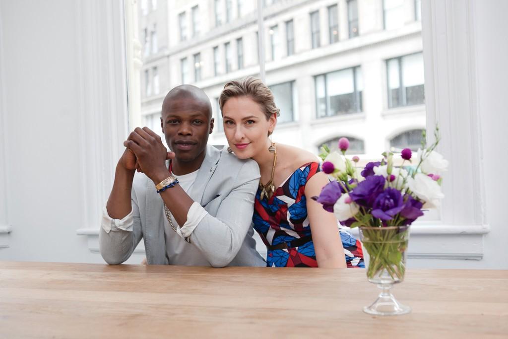 Marlon Taylor-Wiles and Lisa Salzer