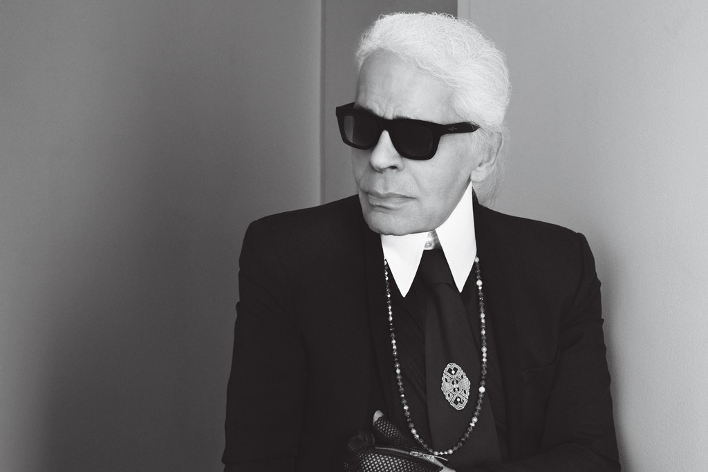 Barbie Lagerfeld has someone to look up to - Karl Lagerfeld.
