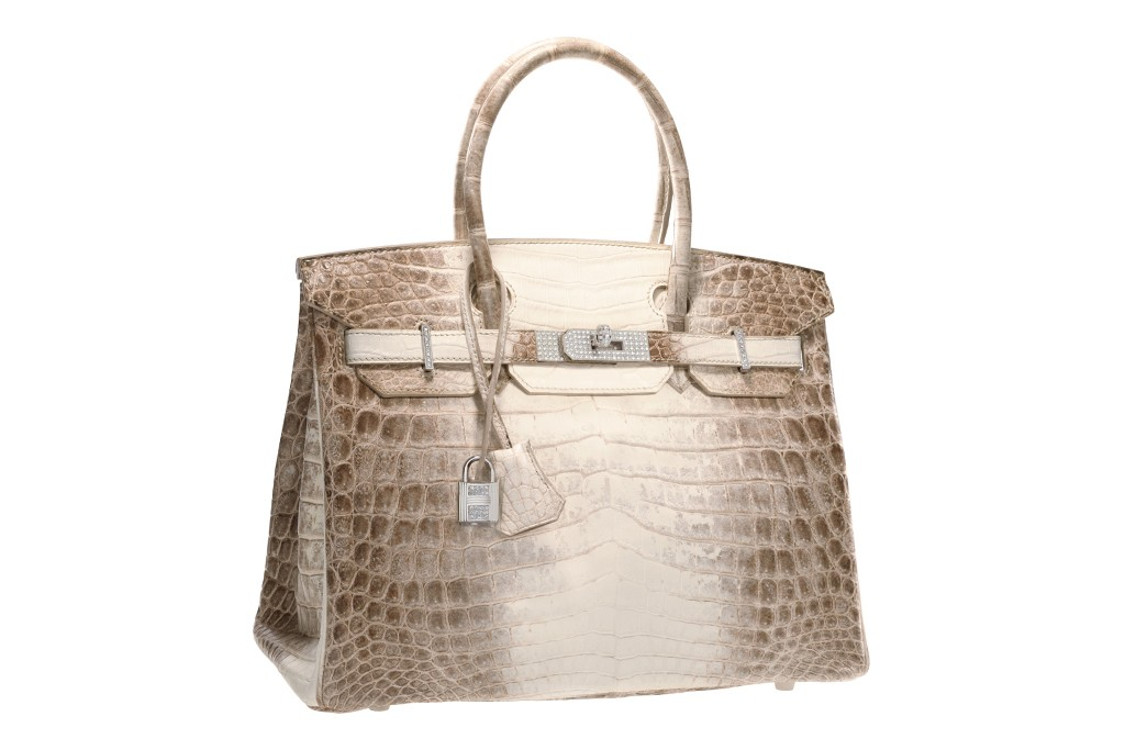 Hermès Diamond Himalayan Birkin.
