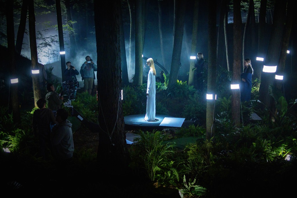 """A visual from """"THISISBOSS,"""" the second short film from Jason Wu and Marco Brambilla for Hugo Boss."""
