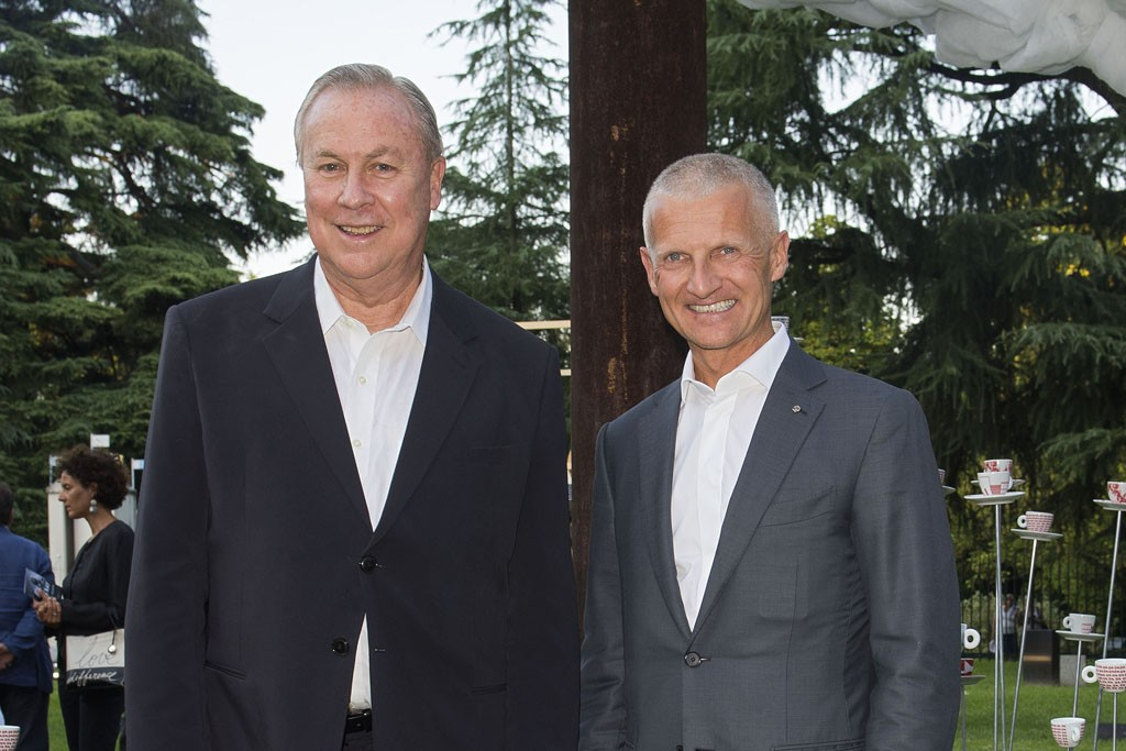 Robert Wilson and Andrea Illy