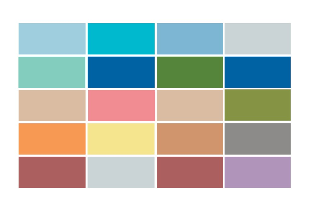 Pantone unveils the top 10 shades called upon for the women's and men's collections.