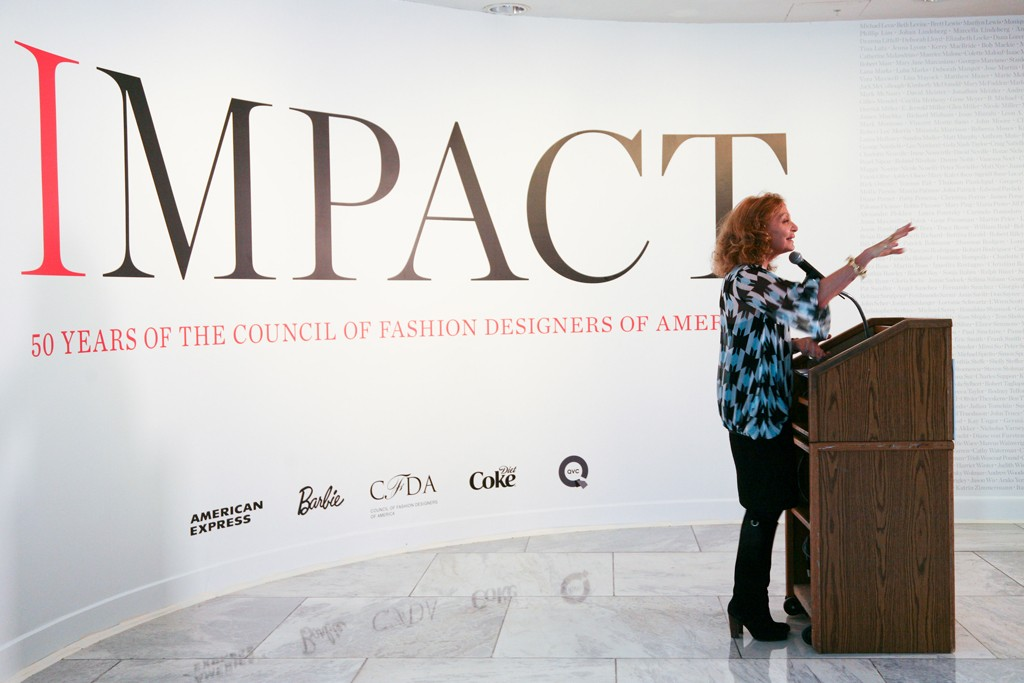 As president of the Council of Fashion Designers of America, Diane von Furstenberg has revamped and significantly grown the organization.