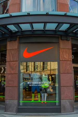 The Nike store in Boston
