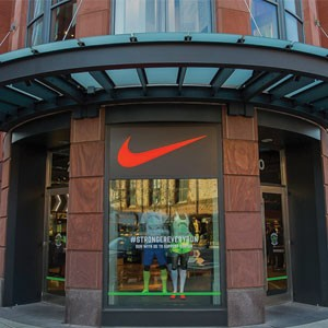 The Nike store in Boston