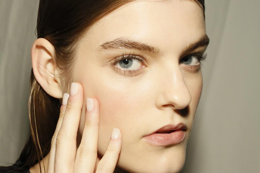 UNPREDICTABLE PAIRINGS: Makeup by Diane Kendal at Thakoon