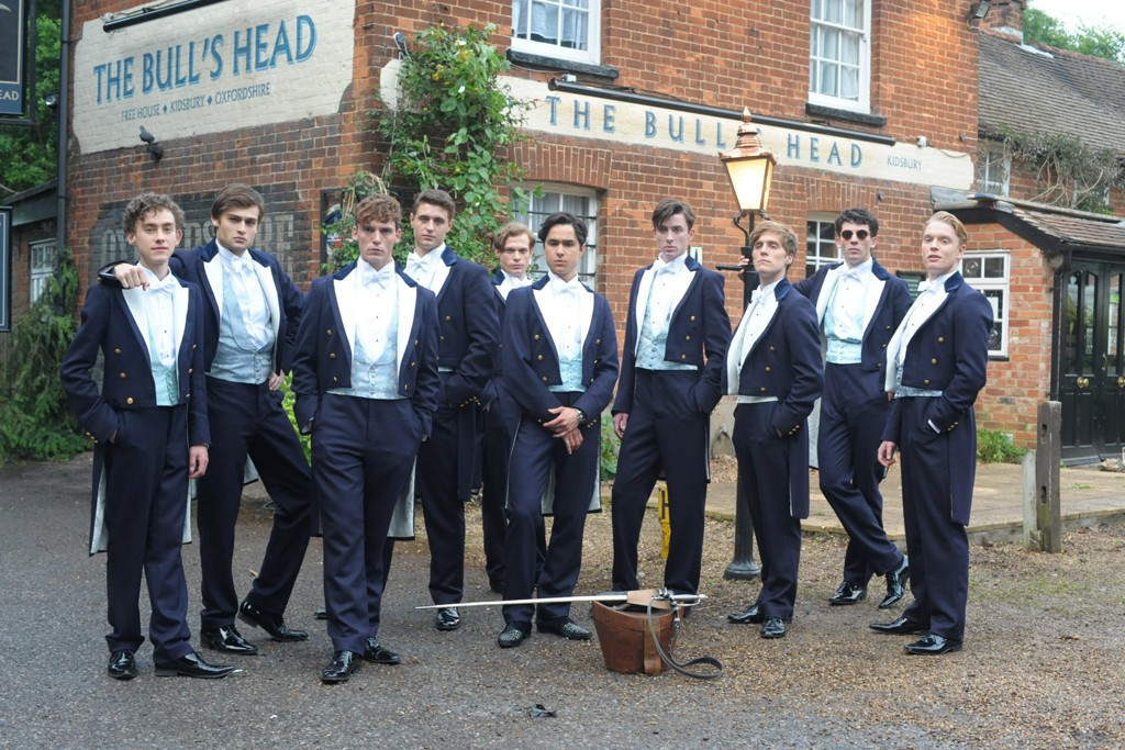 """A still from """"The Riot Club."""""""