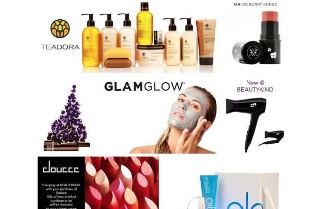 The Beautykind homepage.