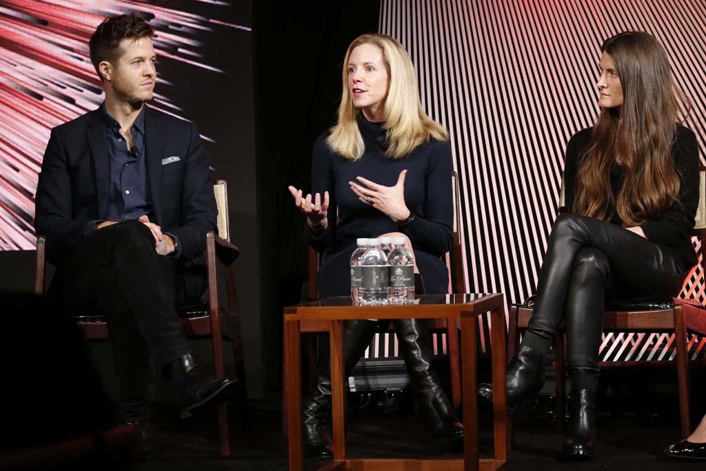 Oliver Walsh, Mary Beech and Ara Katz.