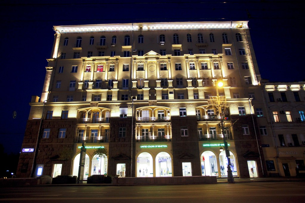 Benetton's flagship in Moscow