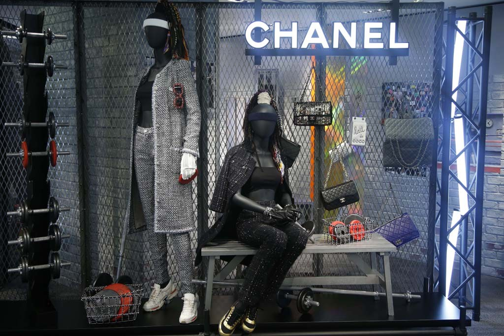 Chanel's pop-up shop at Bergdorf Goodman's 5F.