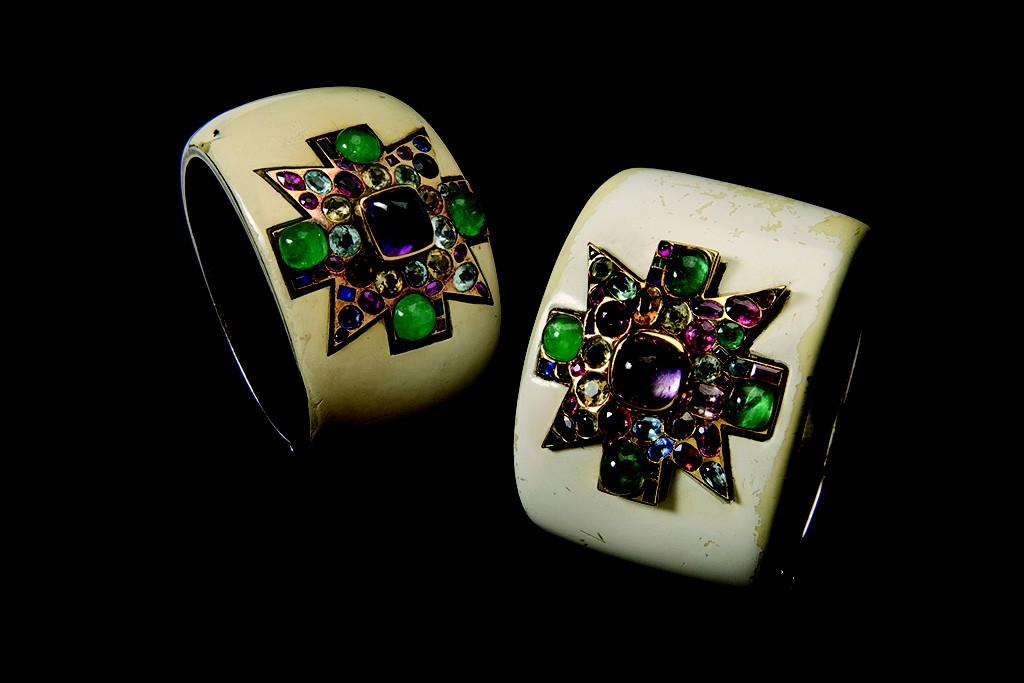Coco Chanel's Maltese cuffs