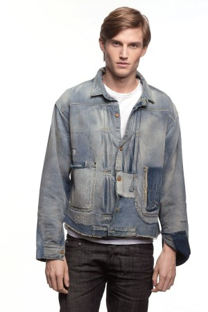 Levi's Vintage Clothing Denim Trucker Jacket