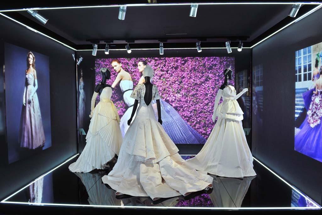 Inside the Esprit Dior exhibition.