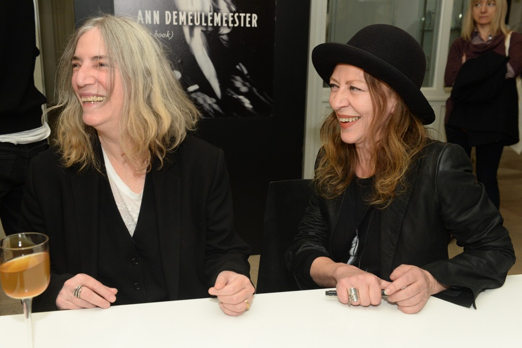 Patti Smith and Ann Demeulemeester