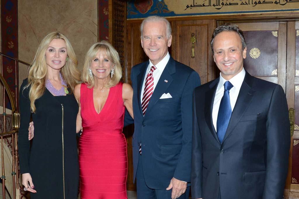 Rima Al-Sabah, Dr. Jill Biden, Vice President Joe Biden, and Ambassador Salem Al-Sabah.
