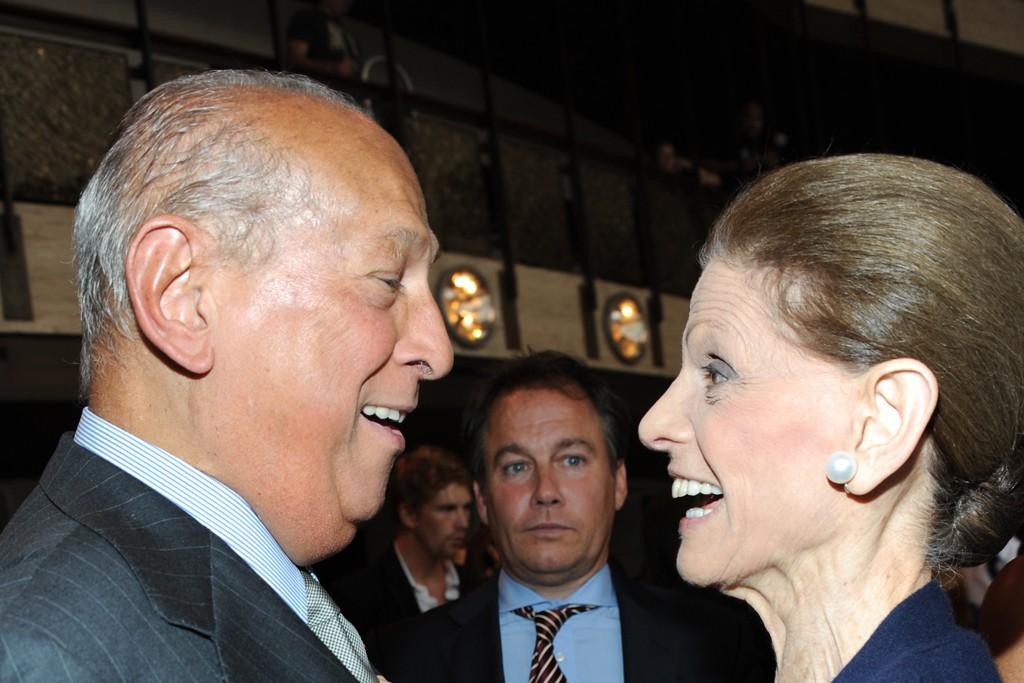 Oscar and Annette de la Renta