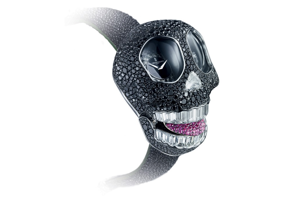 The Crazy Skull watch.