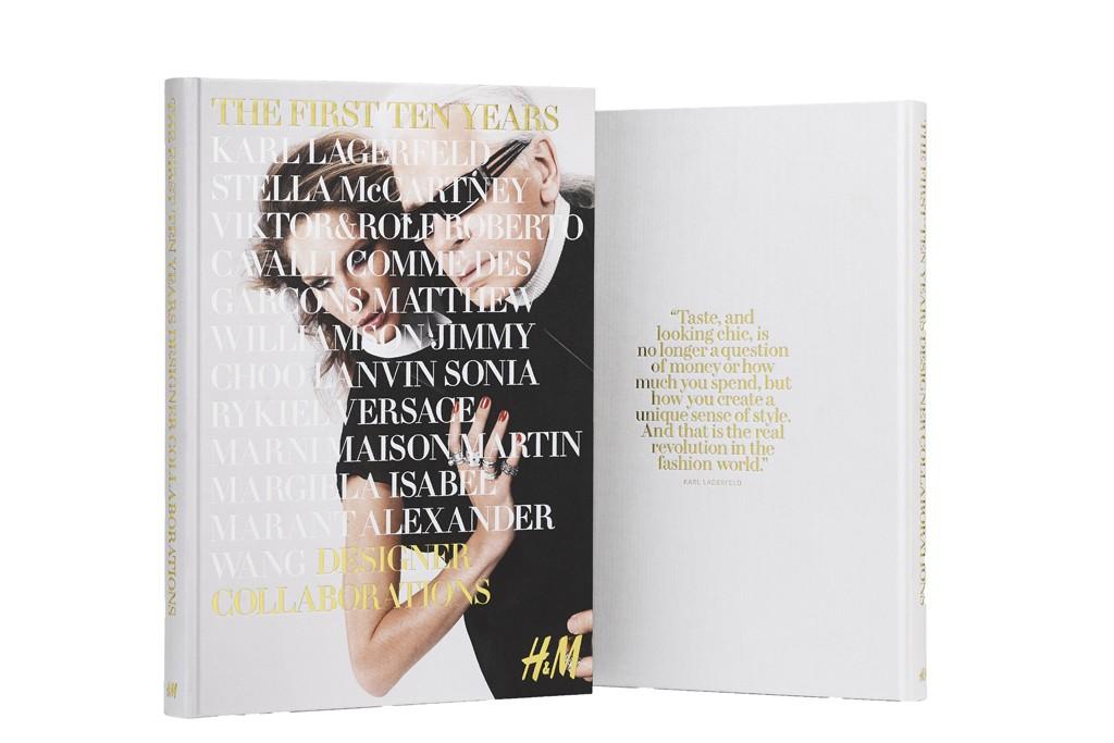 The commemorative H&M book.
