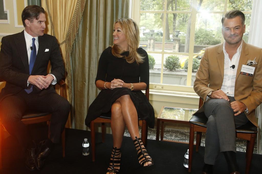 Jeffrey Gennette, Marigay McKee and David Walker-Smith.