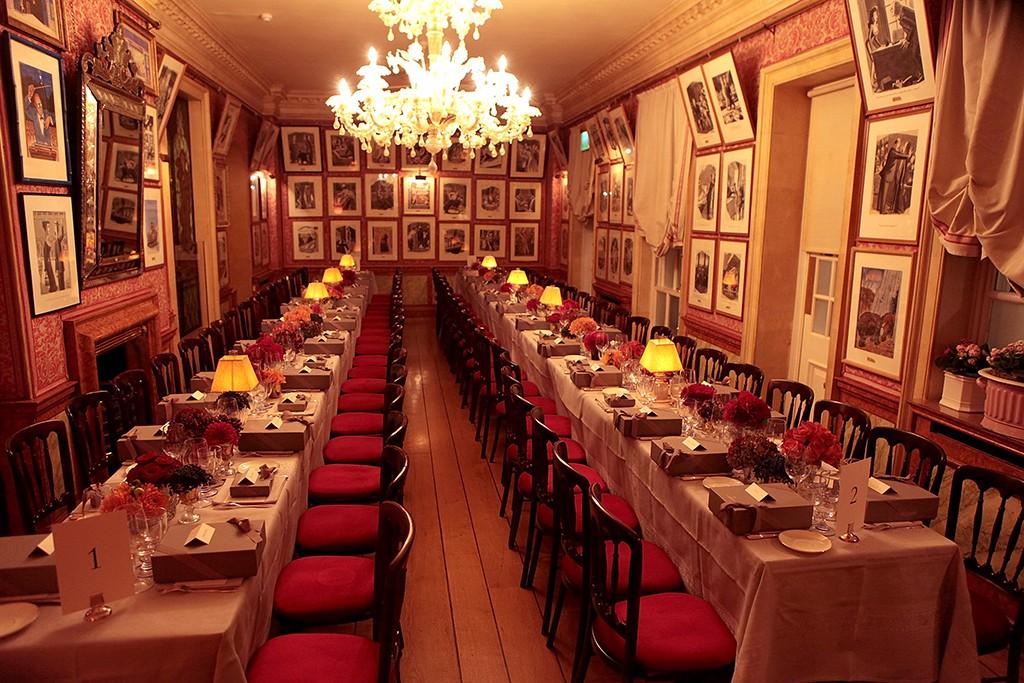 Harry's Bar dining room