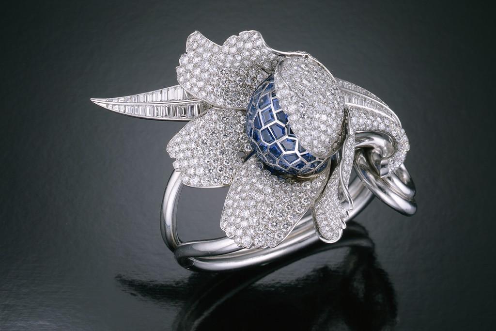 Paul Flato Flower Bracelet.