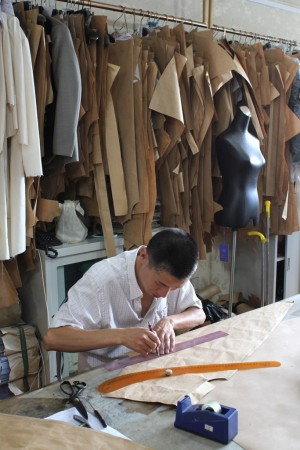 Custom clothing is increasing in acceptance in Asia.