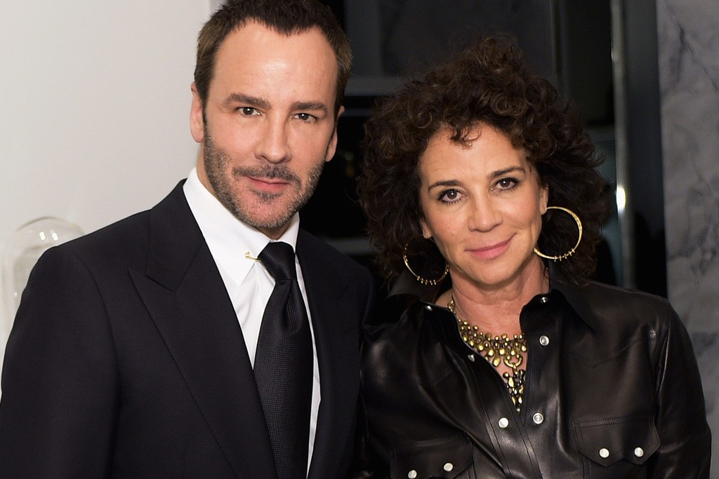 Tom Ford and Lisa Eisner