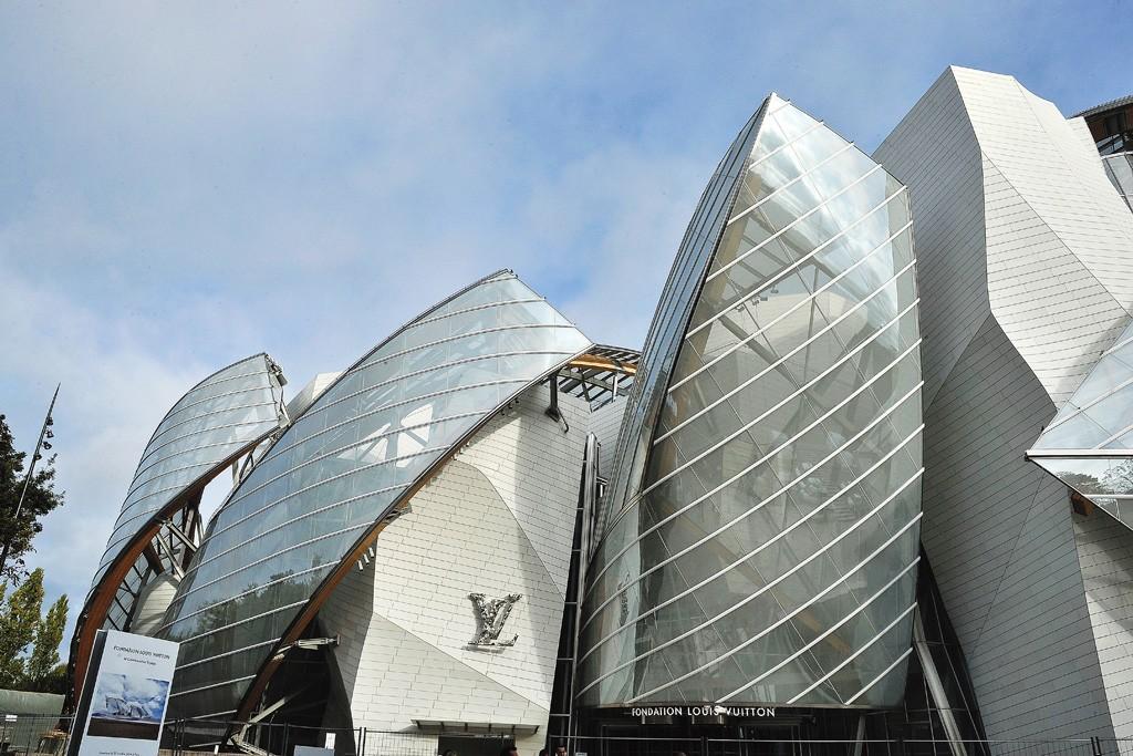 The Louis Vuitton Foundation in Paris.