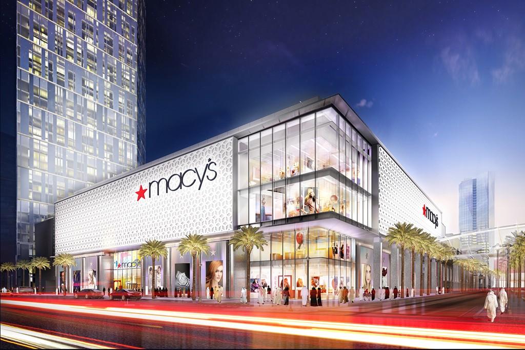 A rendering of the Macy's store at Al Maryah Central on Al Maryah Island in Abu Dhabi.