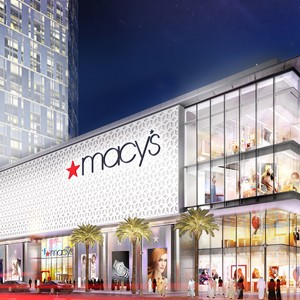 A rendering of the Macy's store at Al Maryah Central on Al Maryah Island in Abu Dhabi.