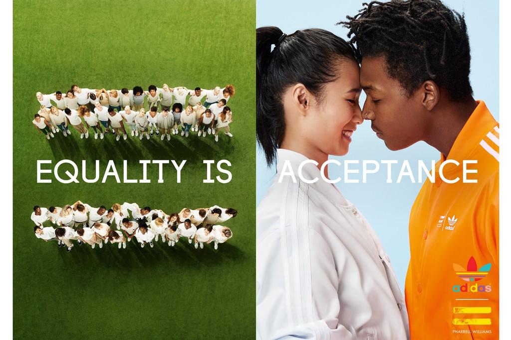 New Adidas x Pharrell Williams campaign by Ryan McGinley