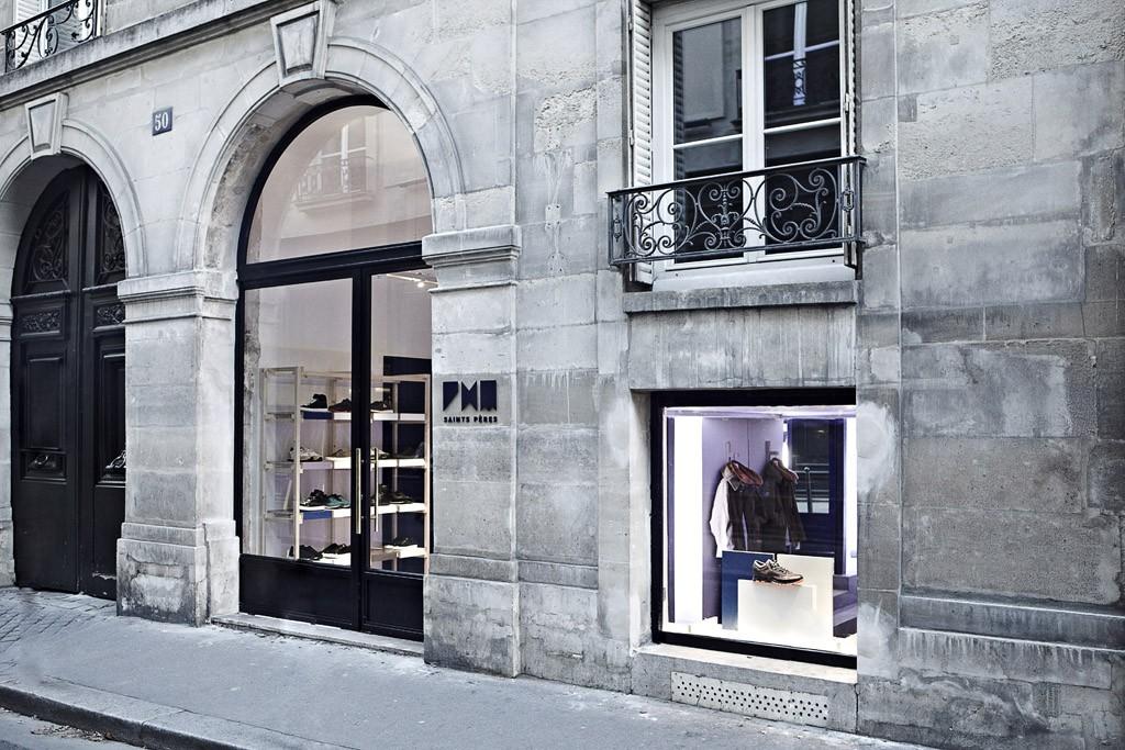 New Paris concept store: PHM Saints Péres.