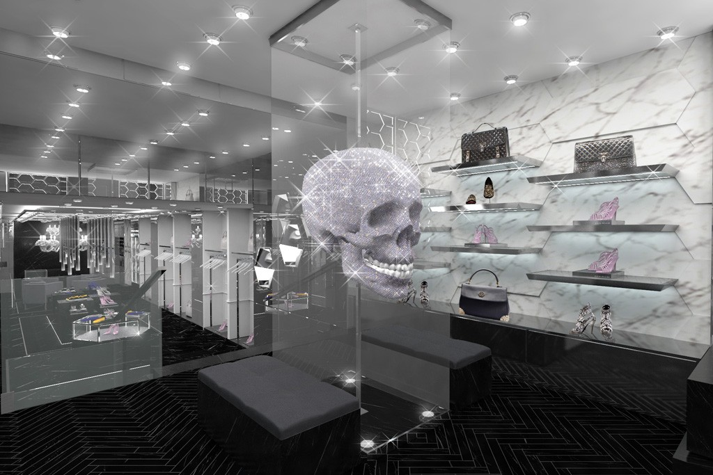 The Rodeo Drive flagship opening Tuesday will be the designer's 38th store.