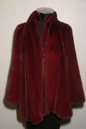 A look from Pologeorgis Furs.