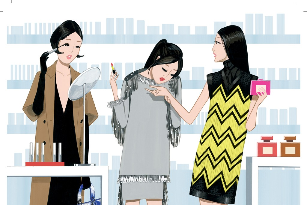 The self-select model is gaining traction in Japan, where young shoppers eager to play with beauty products eschew the traditional department-store format.