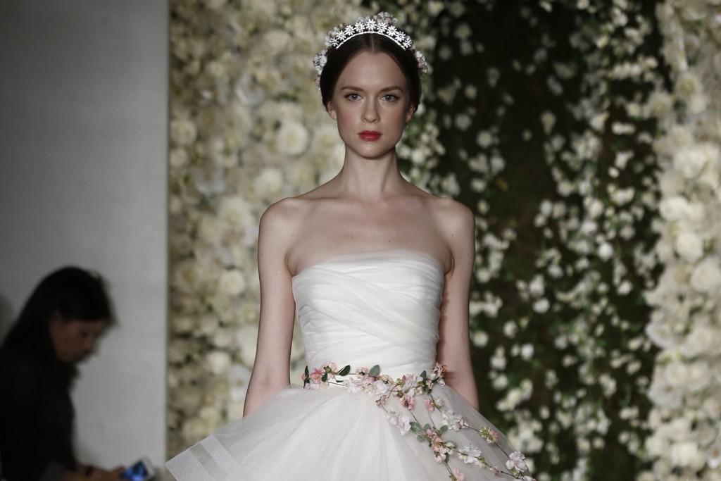 THE BRIDE WORE: Reem Acra Bridal Fall 2015
